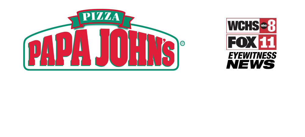 Papa Johns and WCHS are offering pizza in exchange for canned goods